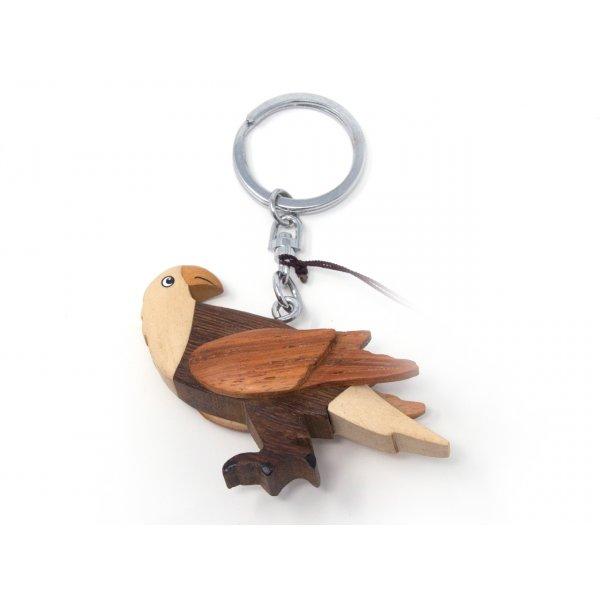 Schlüsselanhänger aus Holz - Adler