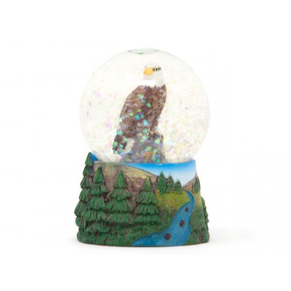 Schneekugel Poly Mini - Adler