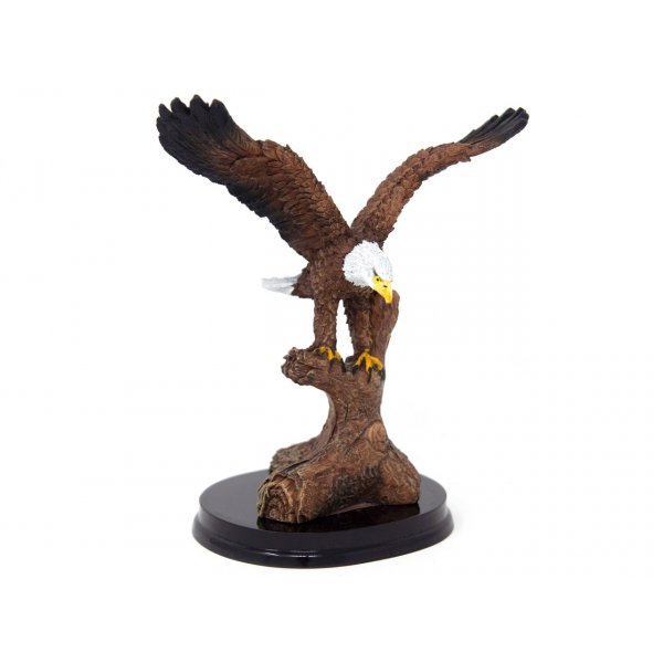 Dekofigur Poly - Weißkopfseeadler - 12cm