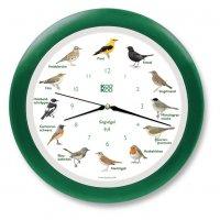 KooKoo Wanduhr - Singvögel mit RC Funkquarzwerk -...