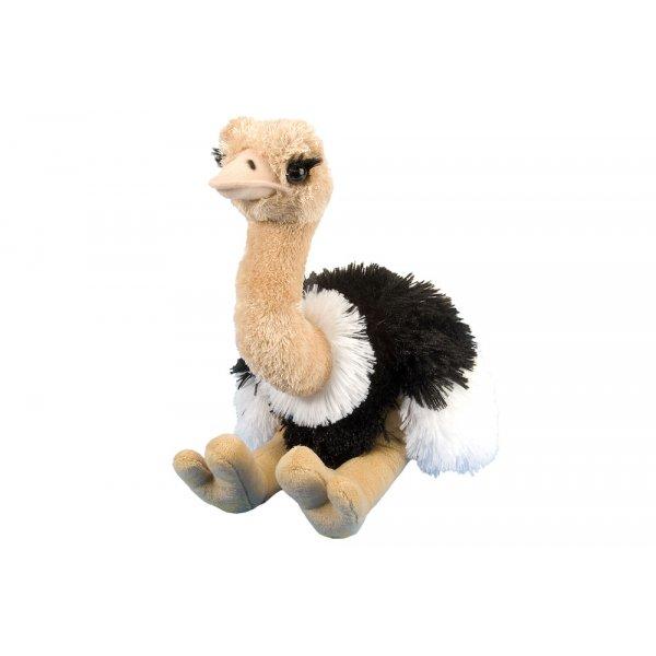 Wild Republic - Cuddlekins - Vogel Strauß