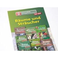 Bestimmungskarten-Set - Bäume und Sträucher, 7...
