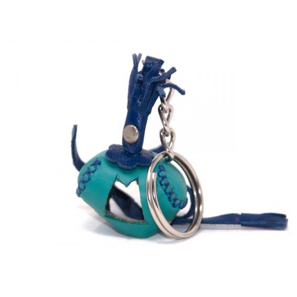 Schlüsselanhänger aus Leder - Falkenhaube - Mod. 03