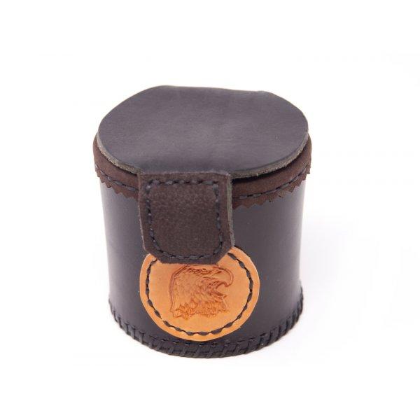 """Gürteltasche Futterbox """"Pablo"""" - 7,5 cm, Leder"""